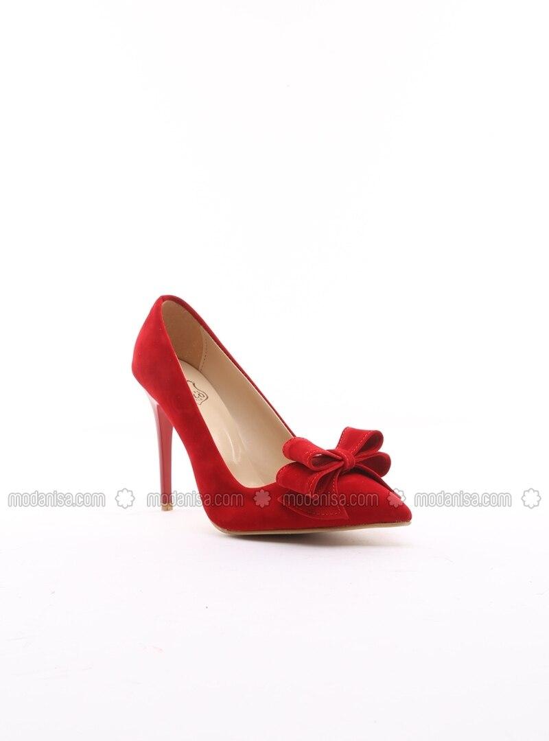 fb596511566 Red - High Heel - Shoes - B.F.G POLO STYLE. Fotoğrafı büyütmek için tıklayın