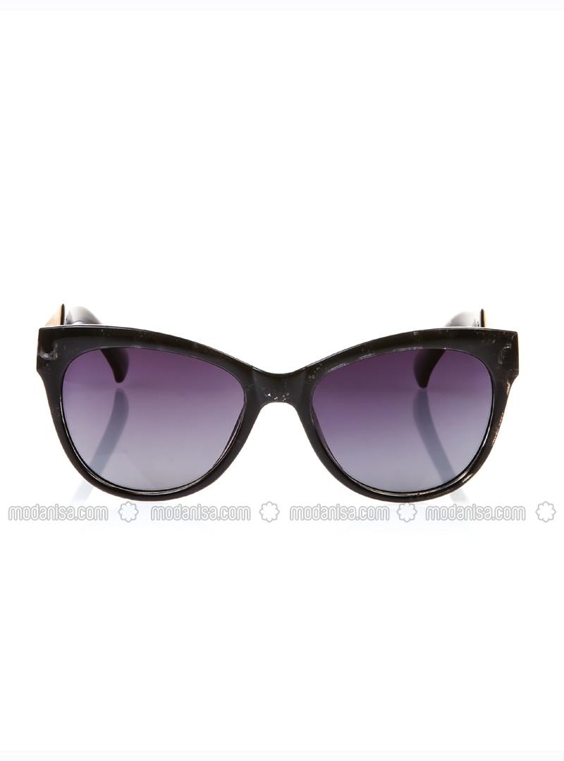 Black - Gray - Sunglasses
