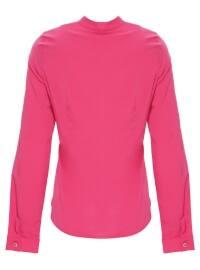 Pink - Crew neck - Blouses