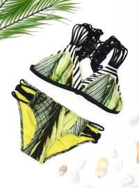 Üçgen Bikini - Yeşil - DAGİ