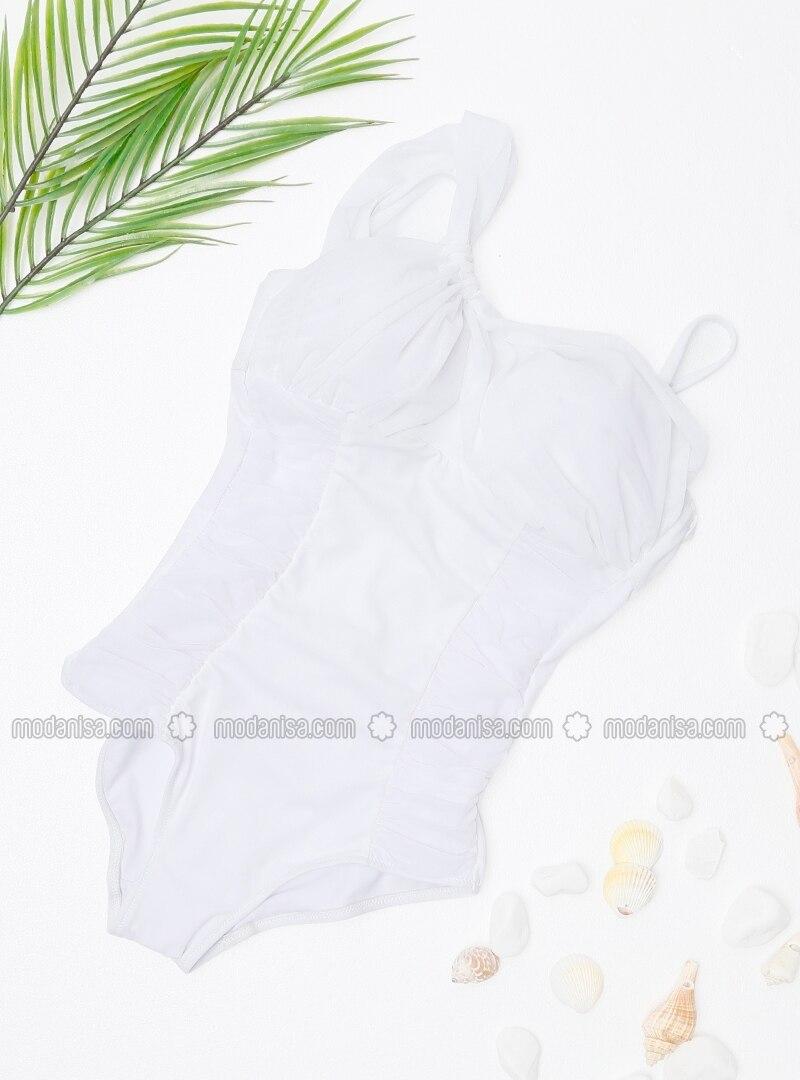 White - Ecru - Bikini