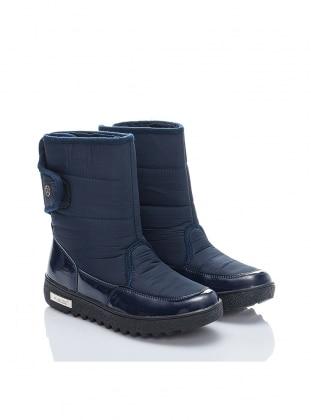 Bot - Lacivert - Just Shoes Ürün Resmi