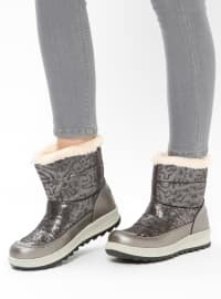 Silver tone - Boot - Boots