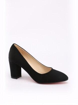 ayakkabı - siyah süet - y-london