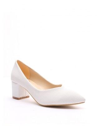 ayakkabı - beyaz baskılı - b.f.g polo style