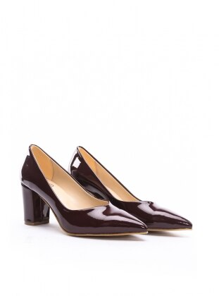 ayakkabı - bordo rugan - b.f.g polo style