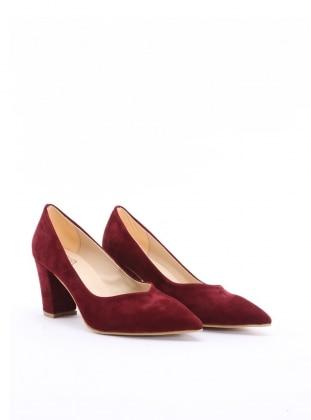 ayakkabı - bordo süet - b.f.g polo style