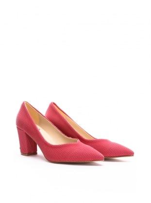 ayakkabı - gül kurusu baskılı - b.f.g polo style