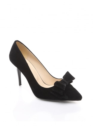 ayakkabı - siyah süet - b.f.g polo style