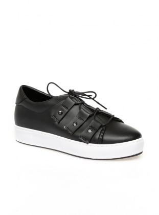 Zenneshoes Ayakkabı - Siyah Troplu