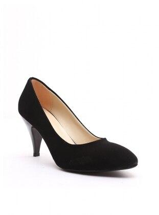 topuklu ayakkabı - siyah - b.f.g polo style