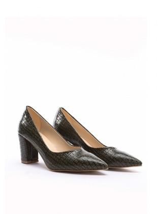 ayakkabı - yesil krokodil - b.f.g polo style