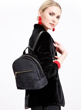 Black - Backpack - Bag - PNK