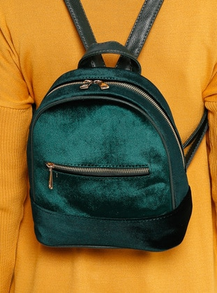Green - Backpack - Bag