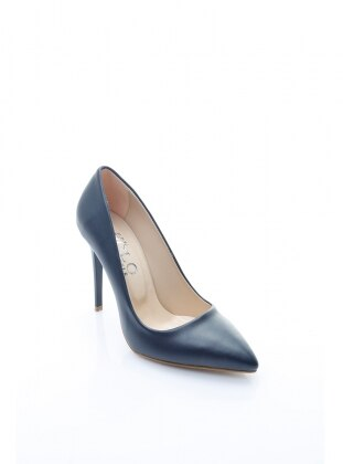 topuklu ayakkabı - lacivert - b.f.g polo style
