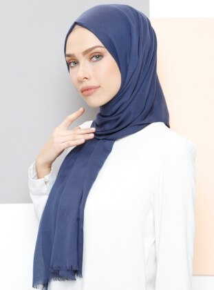 Blue - Plain - Shawl - Aker Sport