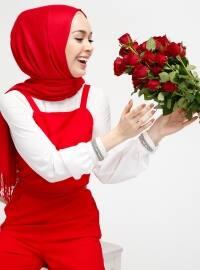 Kolsuz Tulum - Kırmızı - Fashion Light