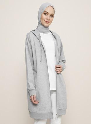 Gray - Unlined - Topcoat