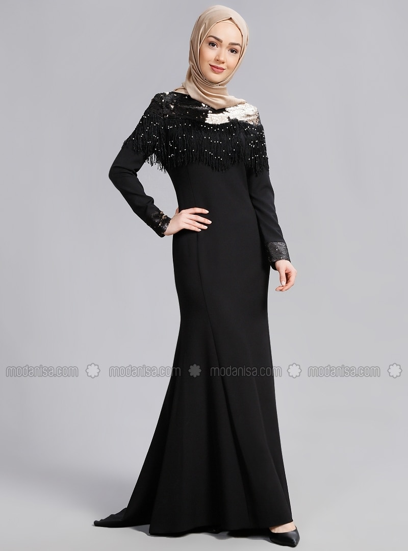 Black and Gold Evening Dresses