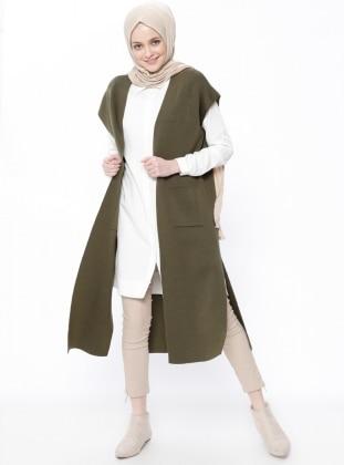 Khaki - Unlined - Vest