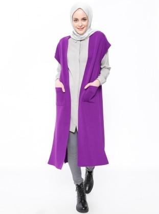 Purple - Unlined - Vest