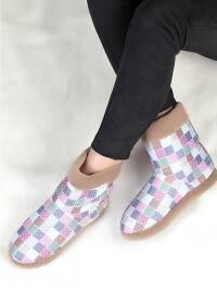 Ayakkabı - Vizon - Pembe Potin
