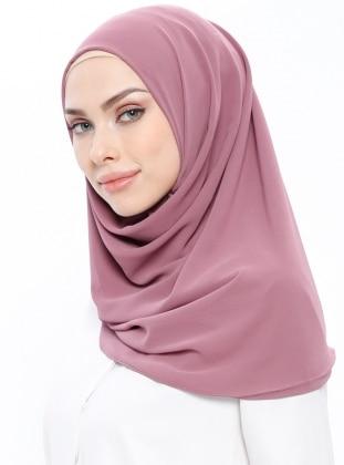 Pink - Purple - Plain - Instant Scarf