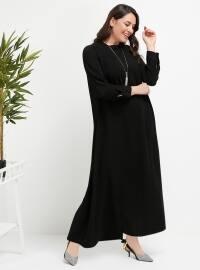 Elbise - Siyah - Alia