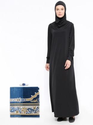 Black - Unlined - Suit - BAGİZA