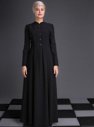 Buğlem Elbise - Siyah - An-Nahar Ürün Resmi