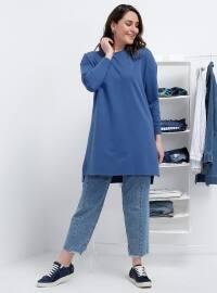 Basic Tunik - İndigo - Alia