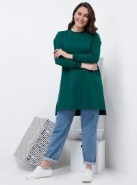 Basic Tunik - Zümrüt - Alia
