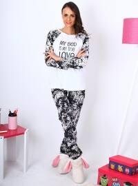 Yosy Pijama Takımı - Siyah - Meliana