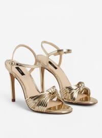 Abiye Ayakkabı - Altın - Mango