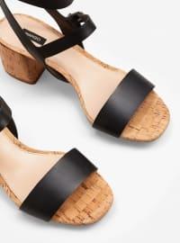 Sandalet - Siyah - Mango