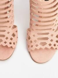 Topuklu Ayakkabı - Ten - Mango