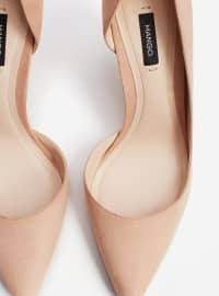 Topuklu Ayakkabı - Açık Pembe - Mango