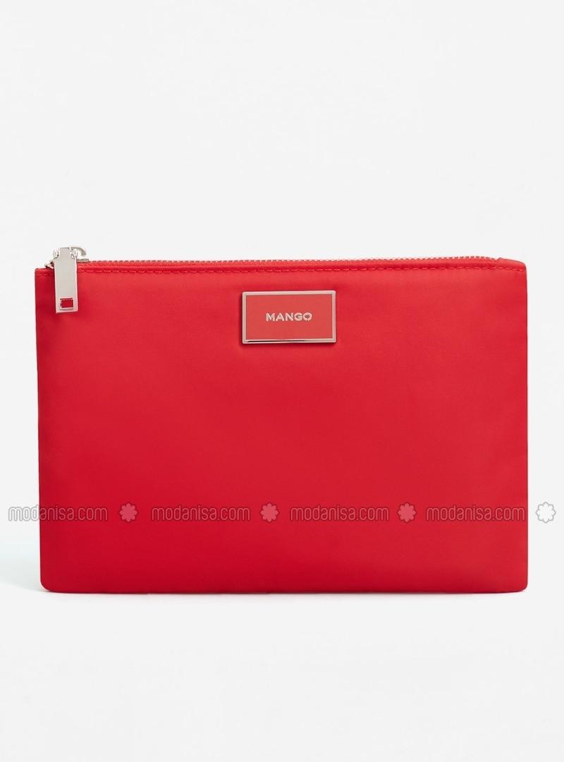 061ad67920d34 Rot - Clutch - Tasche