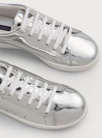 Spor Ayakkabı - Gümüş - Violeta by Mango