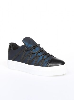 Navy Blue - Sport - Casual - Shoes
