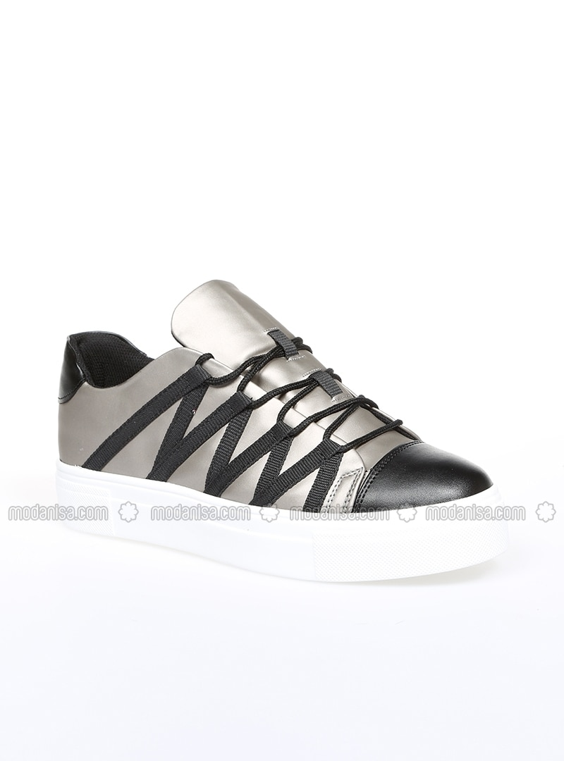 chaussures de sport ae31e 8a69a Argenté - Sport - Décontracté - Chaussures