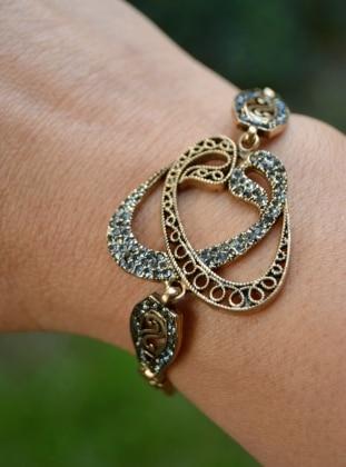 Gold - Bracelet - Stoneage