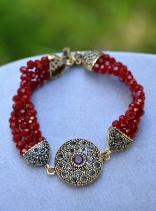 Red - Bracelet - Stoneage