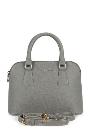 Gray - Satchel - Crossbody - Bag