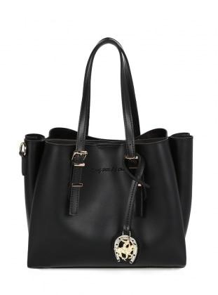 Satchel - Black - Crossbody - Bag