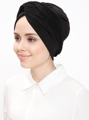 Black - Simple - Bonnet - DIFFERENZA