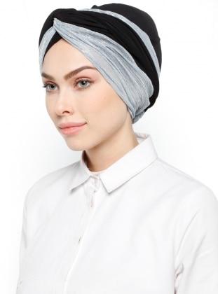 Blue - Black - Simple - Bonnet
