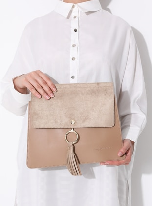 Camel - Crossbody - Bag