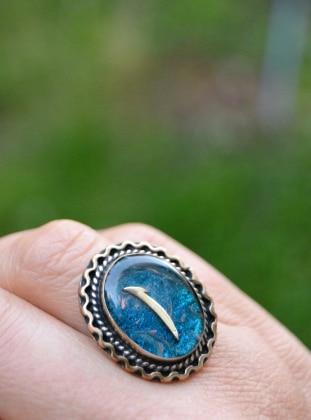 Yüzük - Mavi - Stoneage