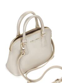 Crossbody - Satchel - Gold - Bag